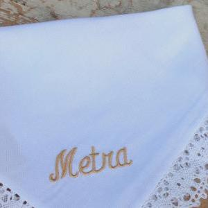 NAME heirloom handkerchief custom e..